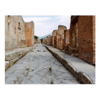 Italy, Pompeii, archaeological site Postcard