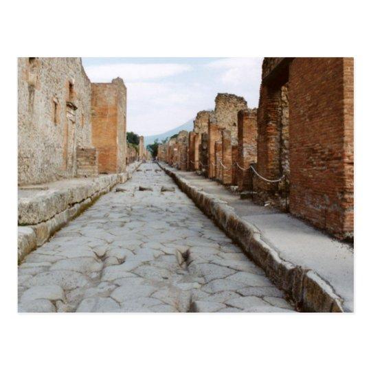 Italy, Pompeii, archaeological site Postcard