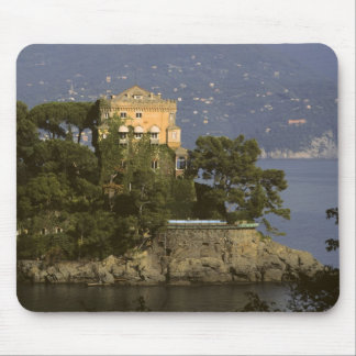 Italy, Portofino. Scenic life on the Mouse Mat