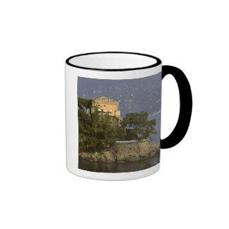Italy, Portofino. Scenic life on the Mugs