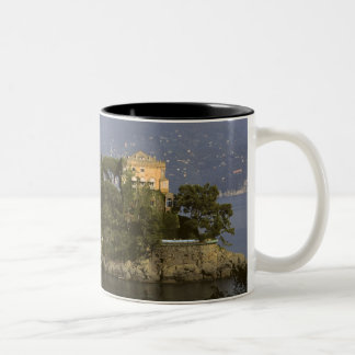 Italy, Portofino. Scenic life on the Mug