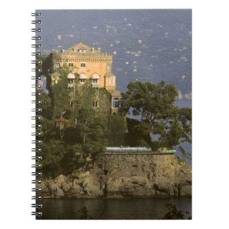 Italy, Portofino. Scenic life on the Notebooks
