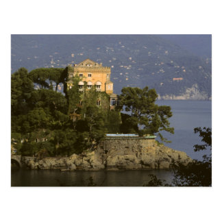 Italy, Portofino. Scenic life on the Postcard