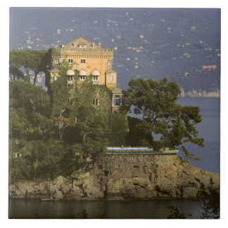 Italy, Portofino. Scenic life on the Tile