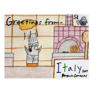 """Italy"" postcard"