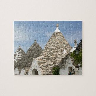 Italy, Puglia, Alberobello, Terra dei Trulli, Jigsaw Puzzle