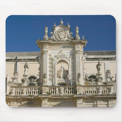 Italy, Puglia, Lecce, Piazza del Duomo, Palazzo Mouse Pads