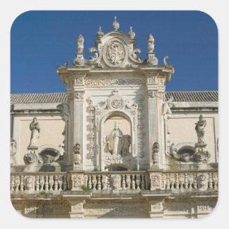 Italy, Puglia, Lecce, Piazza del Duomo, Palazzo Square Sticker