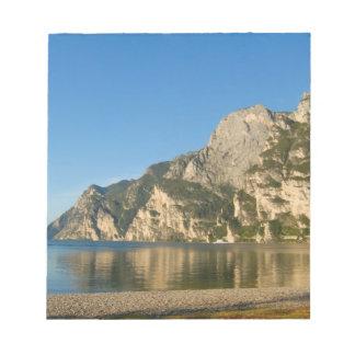 Italy, Riva del Garda, Lake Garda, Mount Notepad