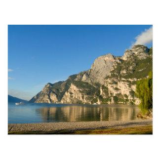 Italy Riva del Garda Lake Garda Mount Post Card