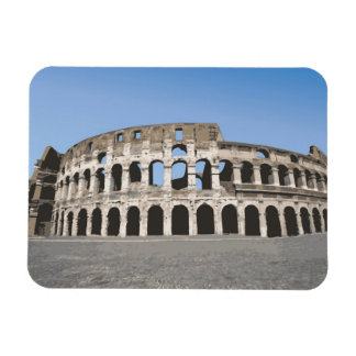 Italy, Rome, Antique Roman amphitheater's, Rectangular Photo Magnet