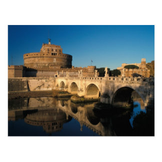 Italy Rome Castel Sant Angelo and river Postcards