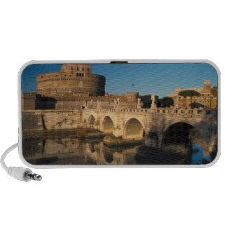 Italy, Rome, Castel Sant'Angelo and river iPhone Speaker