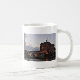 Italy Rome Castello S Angelo Photo Coffee Mugs