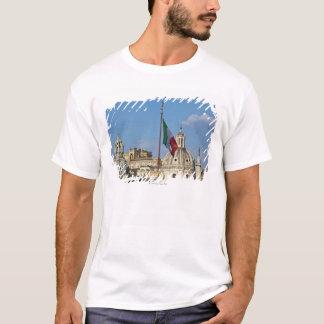 Italy, Rome. Italian flag T-Shirt