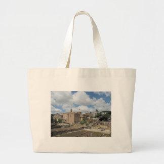 Italy Rome - Roman Forum photo Canvas Bag
