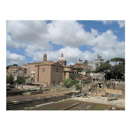 Italy, Rome - Roman Forum photo Postcard