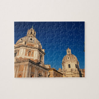 Italy, Rome, Santa Maria di Loreto church and Jigsaw Puzzle