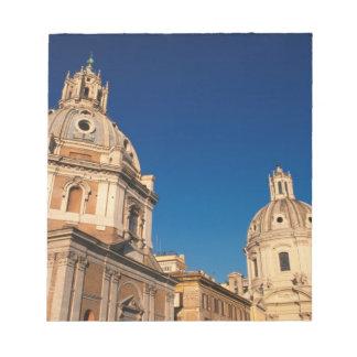 Italy, Rome, Santa Maria di Loreto church and Notepad