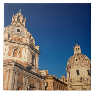 Italy, Rome, Santa Maria di Loreto church and Tile