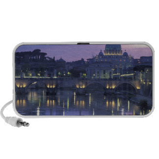Italy, Rome St. Peter's and Ponte Sant Angelo, Speaker