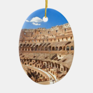 Italy-rome-the-ancient-collosseo -Angie.JPG Ceramic Oval Decoration