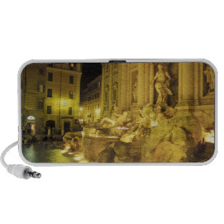 Italy, Rome. Trevi Fountain at night. Travel Speakers