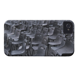 Italy, Rome, Vatican City, Outdoor chairs on iPhone 4 Case-Mate Case