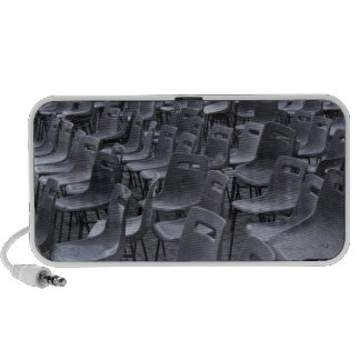 Italy, Rome, Vatican City, Outdoor chairs on iPhone Speaker