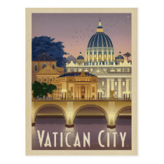 Italy, Rome - Vatican City Postcard at Zazzle