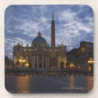 Italy, Rome, Vatican City, St. Peter's Basilica Coaster