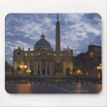 Italy, Rome, Vatican City, St. Peter's Basilica Mouse Mat