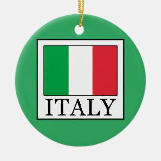 Italy Round Ceramic Decoration