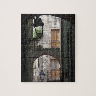 Italy, Sardinia, Bosa. Street detail. Jigsaw Puzzle