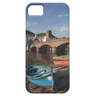 Italy, Sardinia, Bosa. Town view along Temo iPhone 5 Covers
