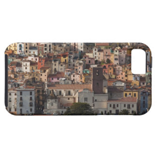 Italy, Sardinia, Bosa. Town view with Castello iPhone 5 Cover