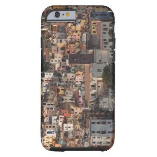 Italy, Sardinia, Bosa. Town view with Castello Tough iPhone 6 Case