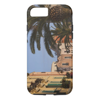 Italy, Sardinia, Cagliari. Buildings and palms iPhone 8/7 Case
