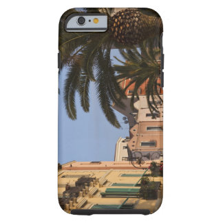 Italy, Sardinia, Cagliari. Buildings and palms Tough iPhone 6 Case