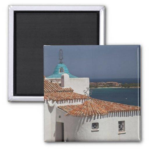 Italy, Sardinia, Porto Cervo. Chiesa di Stella Refrigerator Magnet