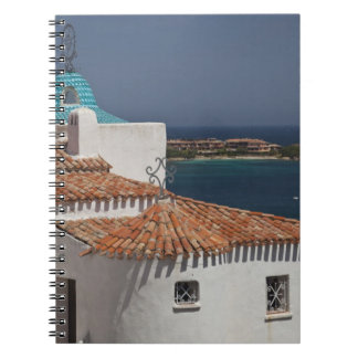 Italy, Sardinia, Porto Cervo. Chiesa di Stella Notebook