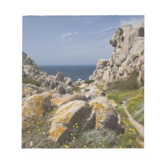 Italy, Sardinia, Santa Teresa Gallura. Capo 2 Notepad