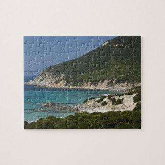 Italy, Sardinia, Solanas. Beach. Jigsaw Puzzle