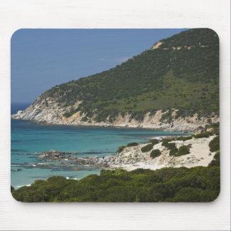 Italy, Sardinia, Solanas. Beach. Mouse Mat