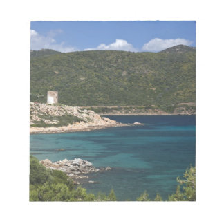 Italy, Sardinia, Teulada. Spanish tower. Notepad