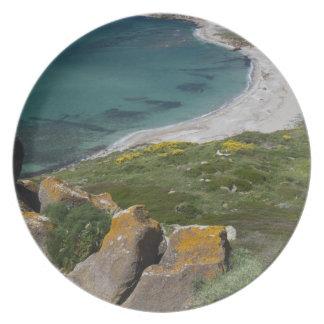 Italy, Sardinia, Tharros. View from the Spanish Plate