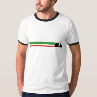 Italy Scooter Streaks T-Shirt