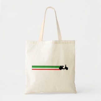 Italy Scooter streaks Tote Bag