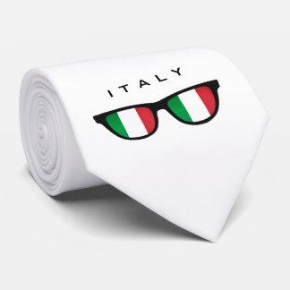Italy Shades custom text & color tie