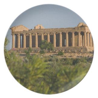 Italy, Sicily, Agrigento, La Valle dei Templi, 4 Plate